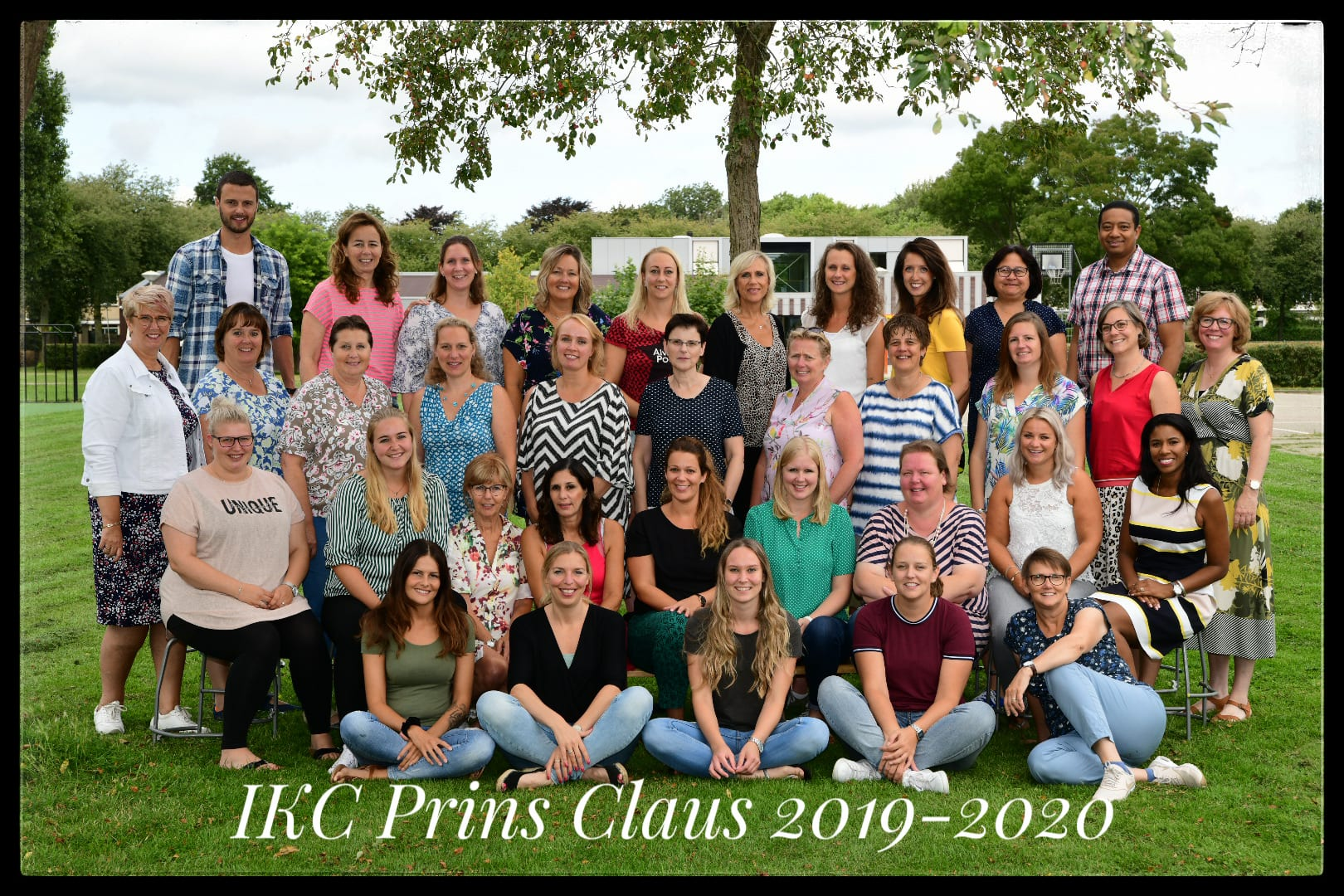 Team foto 2019 Prins Claus